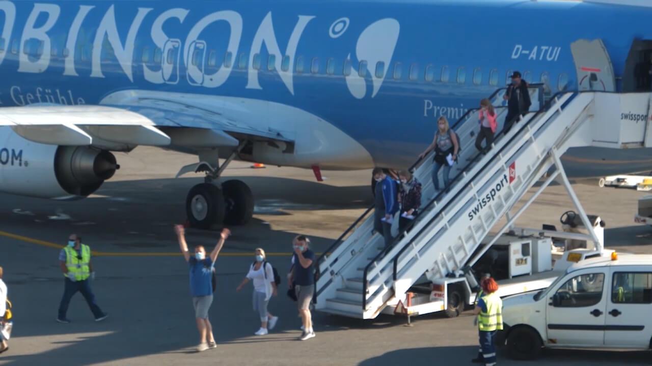 Saisonstart am Flughafen Heraklion