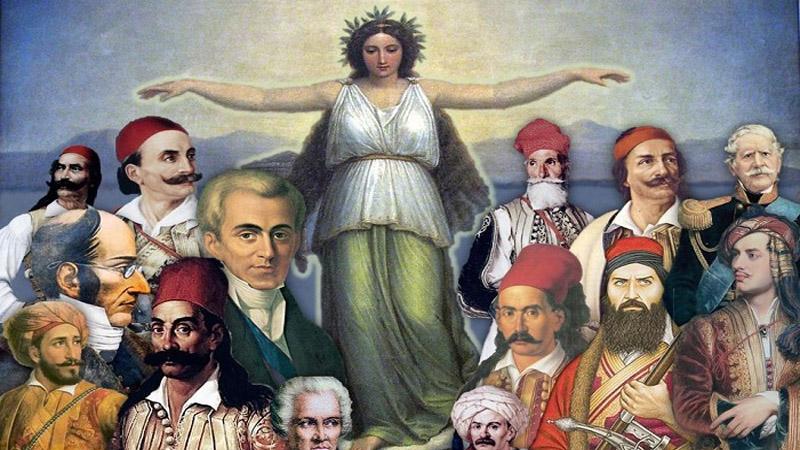 1821 - 2021: 200 - jähriges Jubiläum seit Beginn der gr. Revolution